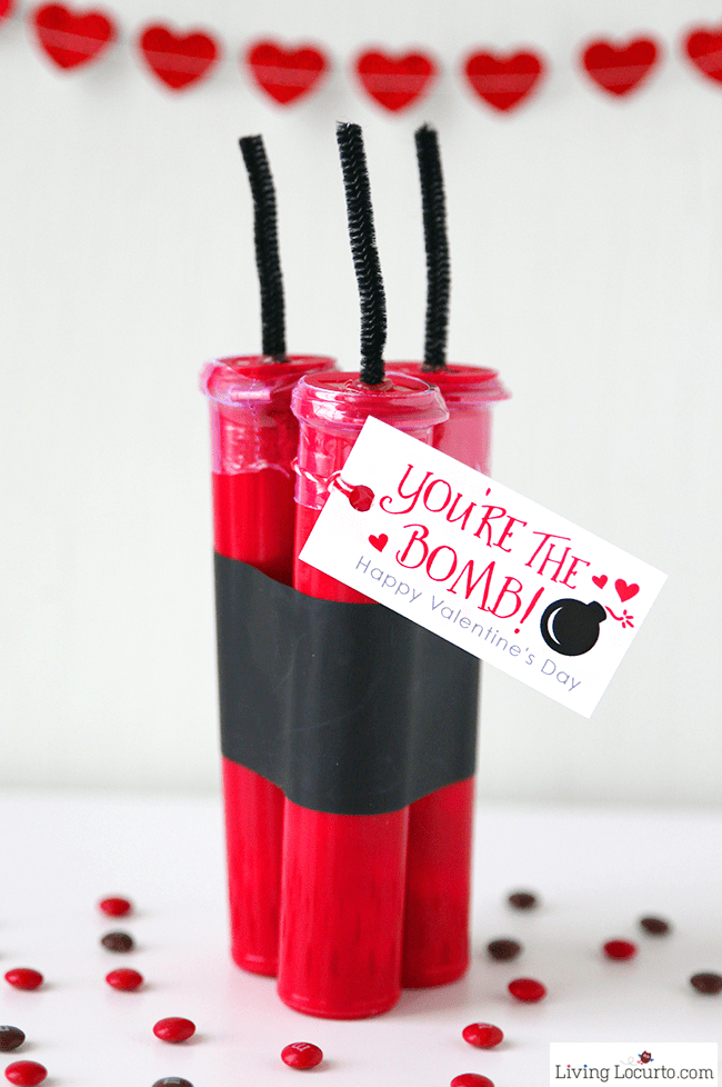Schön Creative DIY Valentineu0027s Day Candy Gift! This Cute Valentine Candy Love  Bomb Is Fun For