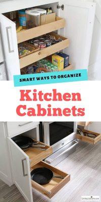 Easy Ways to Organize Kitchen Cabinets