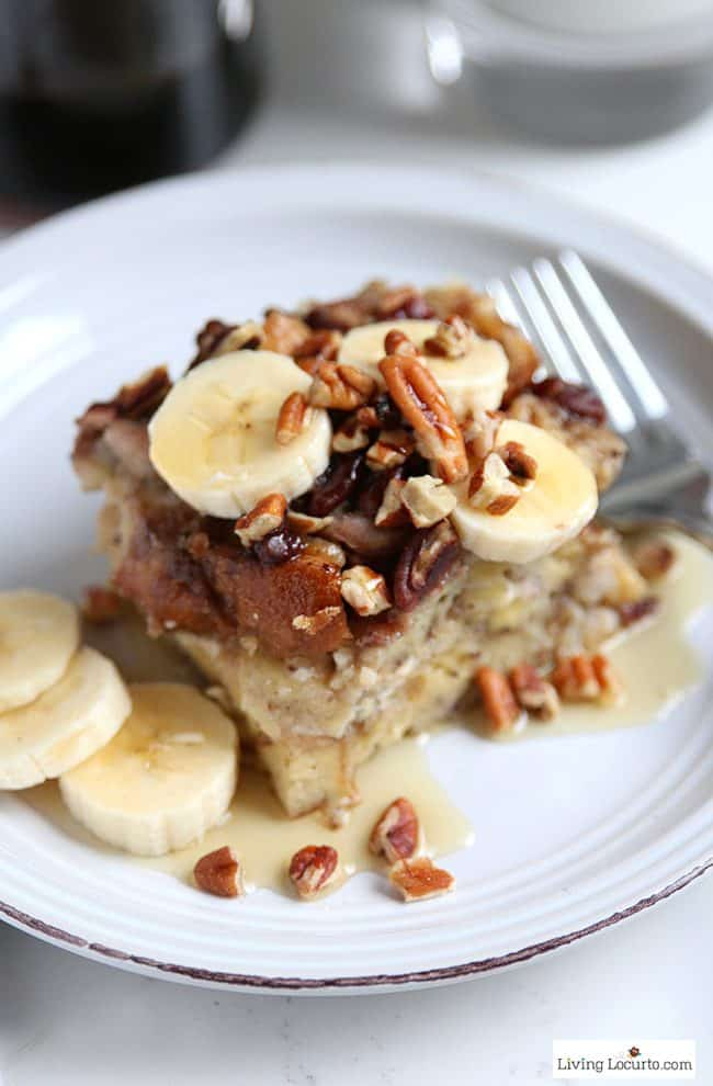 Instant Pot Banana French Toast Recipe