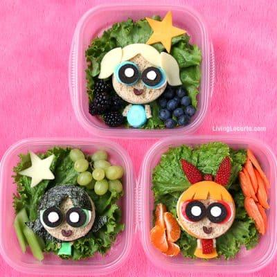 The Powerpuff Girls School Lunch | Sandwich Art