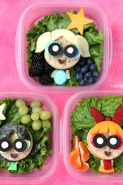 The Powerpuff Girls School Lunch | Sandwich Art