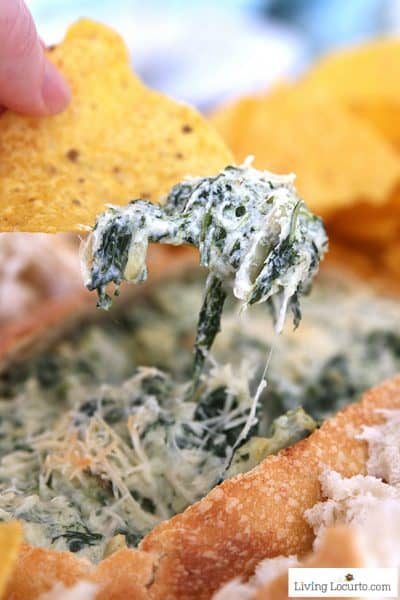 10 Minute Spinach Dip