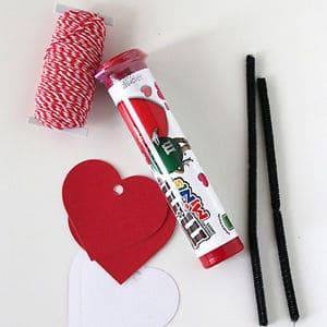 Valentine Candy Craft Ideas