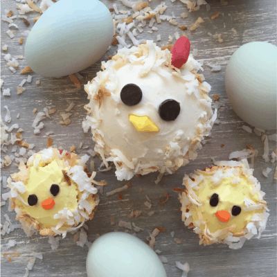 Chicken Cupcakes | Cute Birthday Cake Idea for Chicken Lovers