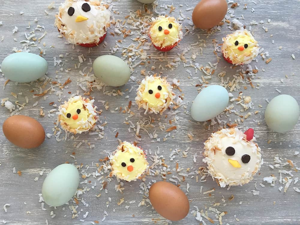 Chicken And Baby Chick Cupcakes Birthday Cake Ideas