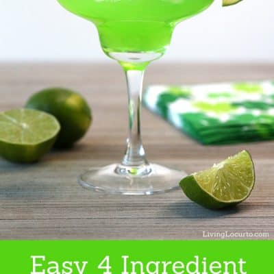 The Best Green Margarita Recipe!