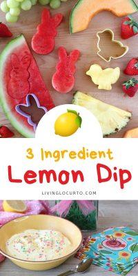 Lemon Fruit dip recipe