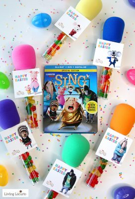 SING Movie Candy Microphone Party Favors and Tags