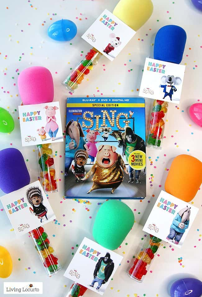Superb Christmas Party Entertainment Ideas #1: Sing-Movie-Easter-Printable-Download-Candy-Microphone-Gift-650x955.jpg