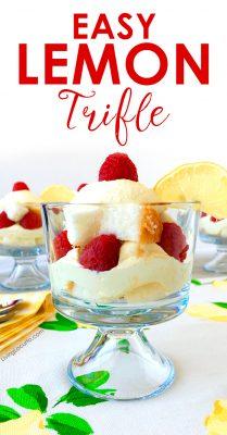 Easy Whipped Lemon Trifle Recipe