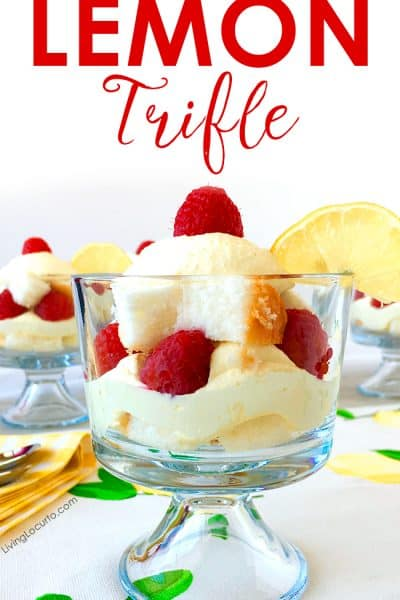 Easy Whipped Lemon Trifle Recipe