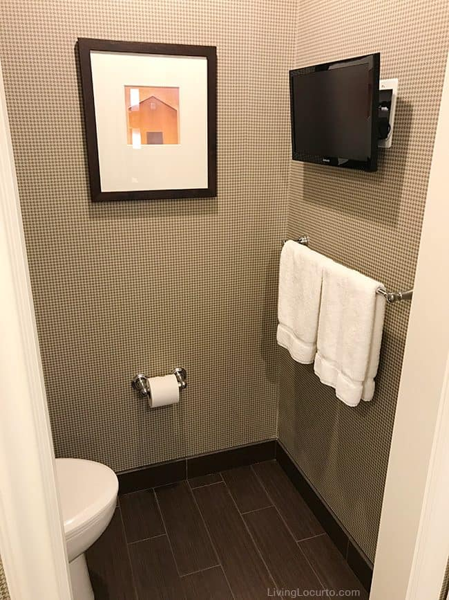 Top 3 Favorite Things to do in Oklahoma. Travel Tips - The Atherton Hotel bathroom