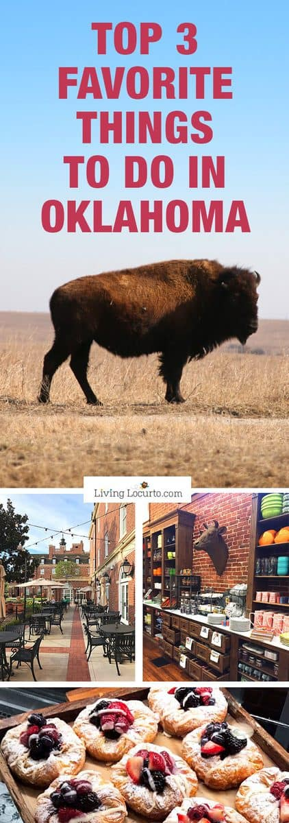 Fun things to do in Oklahoma! Family vacation travel tips. Photo tour of The Pioneer Woman Mercantile, Tallgrass Prairie, The Atherton Hotel and Wine Forum.