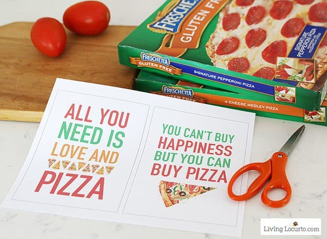 Free Pizza party printables - Easy Pizza Party ideas.