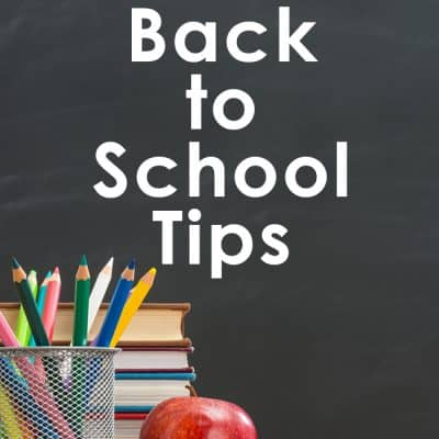 4 Simple Back to School Tips Every Parent Should Know About