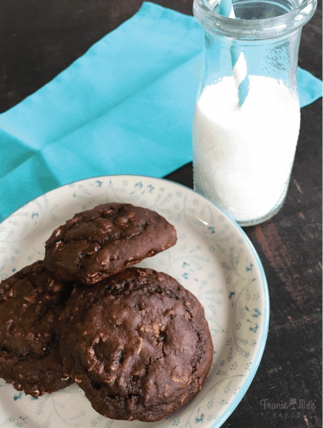 Amazing Chocolate Peanut Butter Breakfast Cookies Recipe!