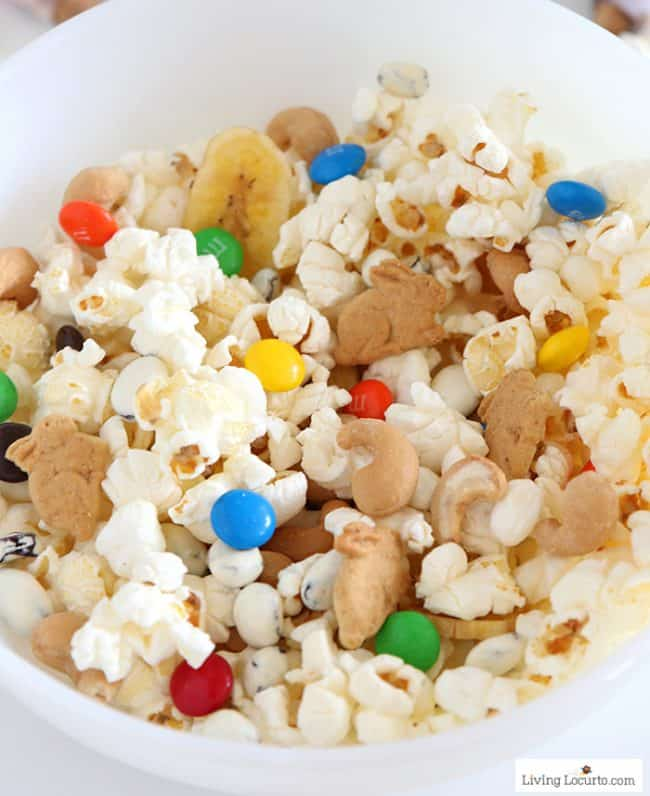 Popcorn Trail Mix Cones | The Nut Job 2 Movie Treats