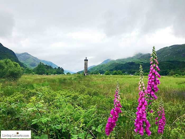 Glenfinnan - Bonnie Prince Charlie's Jacobite rebellion history and Harry Potter film location. 5 Best Outdoor Scotland Family Vacation Ideas! Amazing nature trips in Scotland for families.