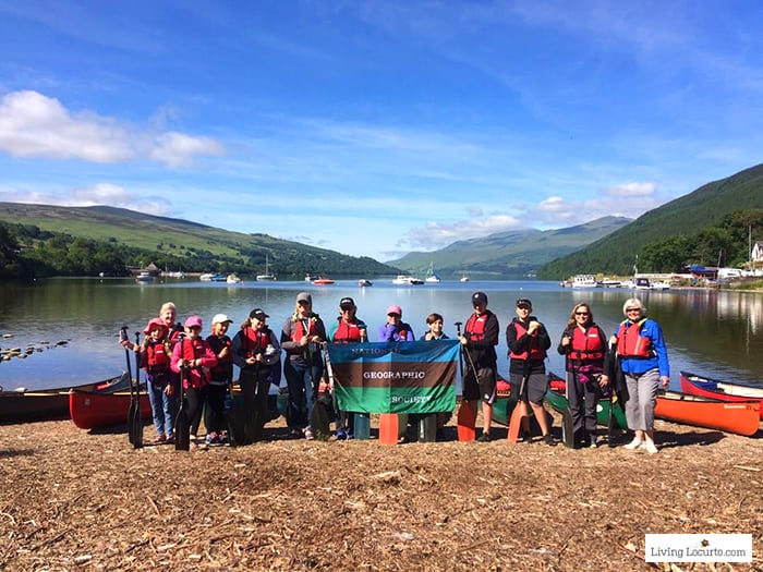 National Geographic Family Expedition in Scotland. 5 Best Outdoor Scotland Family Vacation Ideas! Amazing nature trips in Scotland for families. Kid friendly Scottish highlands vacation ideas and travel tips by Amy Locurto, travel blogger. LivingLocurto.com