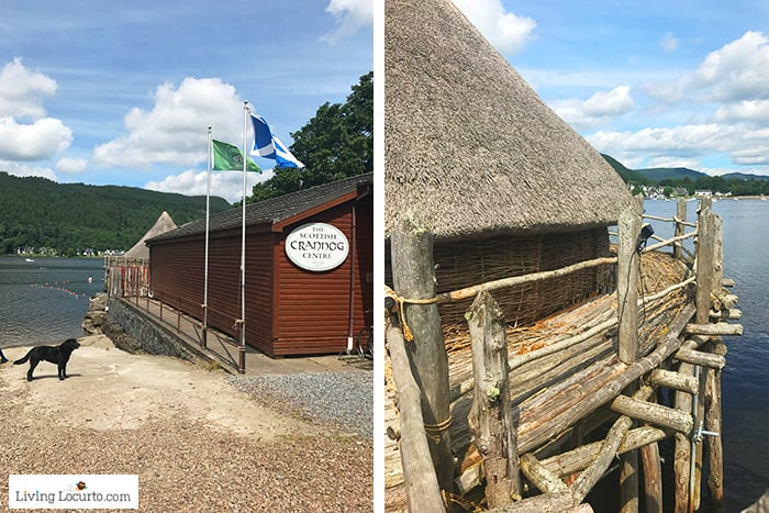 The Scottish Crannog Centre. 5 Best Outdoor Scotland Family Vacation Ideas! Amazing nature trips in Scotland for families. Kid friendly Scottish highlands vacation ideas and travel tips.