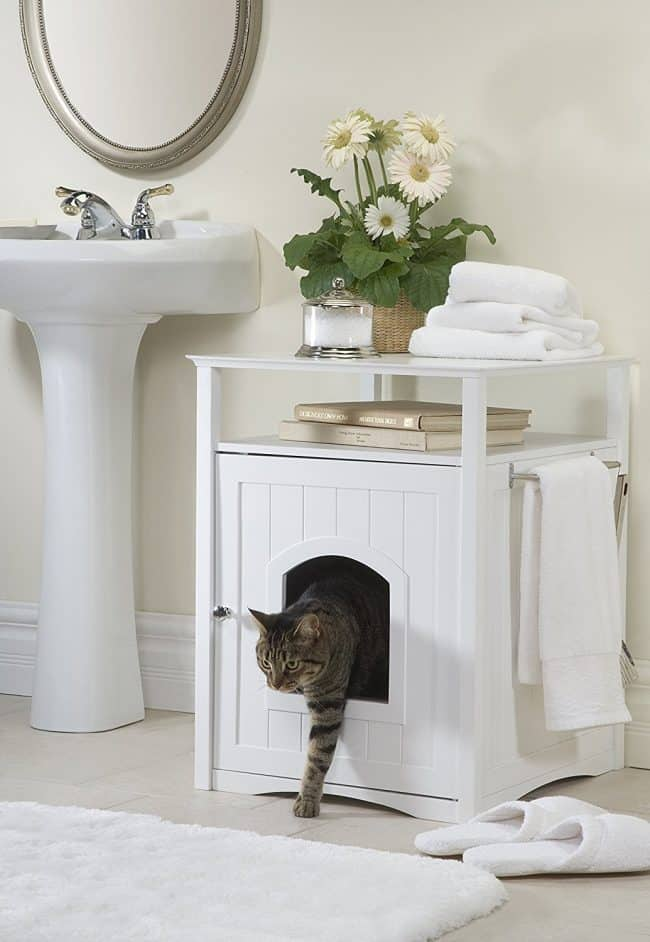 cat home decor ideas kitty litter cabinet