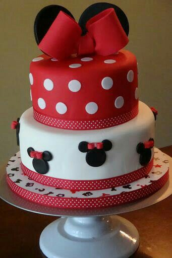 Minnie Mouse Disney Cake How To Make Fondant Icing And Simple Decorating Tips
