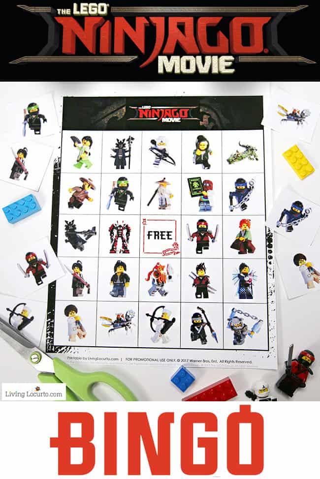 LEGO NINJAGO Bingo | Free Printable LEGO Bingo Game