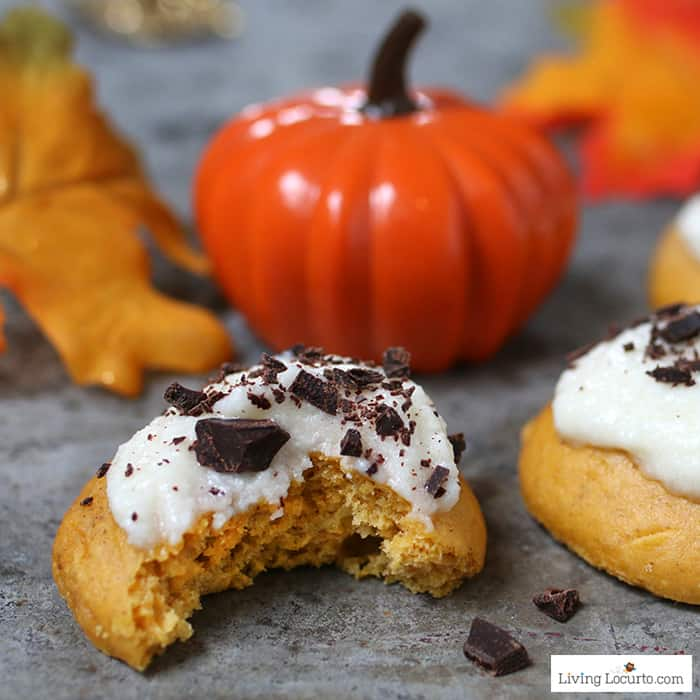Pumpkin Cookies Easy Cake Mix Cookies