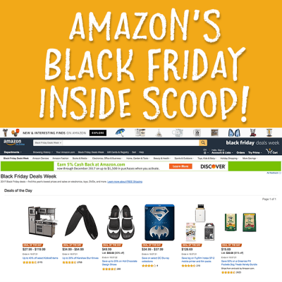 Amazon Black Friday Inside Scoop