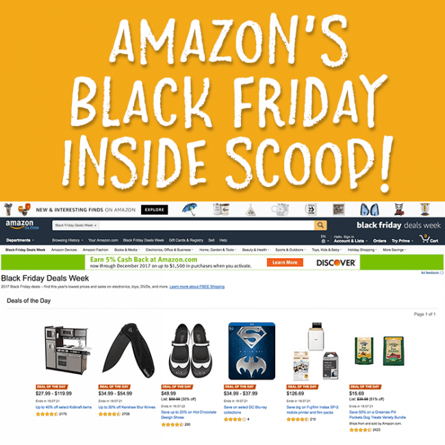 Get the inside scoop on some of our favorite Amazon Black Friday deals! Save money with these Black Friday shopping ideas.