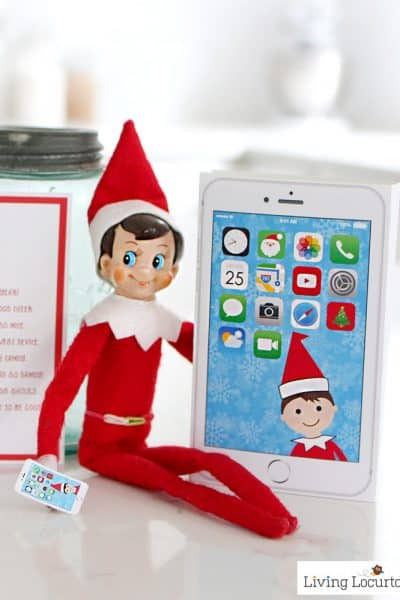 Elf Phone Printable