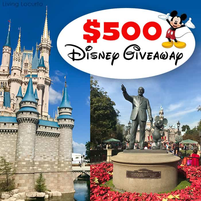 Spreading joy this Holiday season with a magical giveaway for Free Disney World or Disneyland Park Tickets!