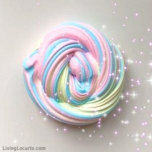 how to make slime with sugar water and food colouring
