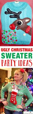 Ugly-Christmas-Sweater-Party-Ideas-Living-Locurto-Funny-Cake