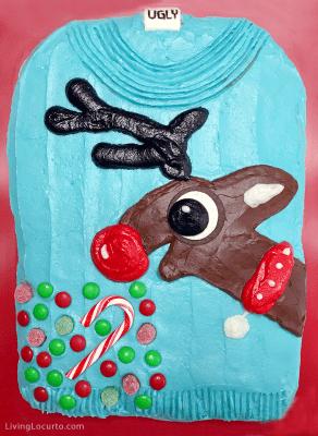 Blue Christmas Stocking