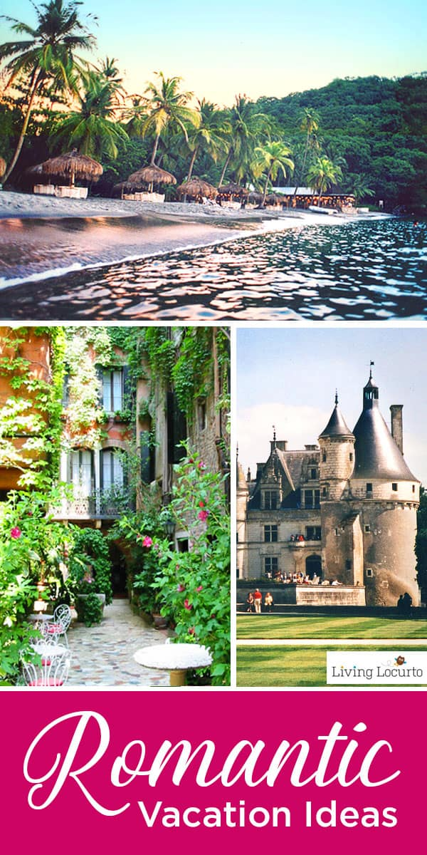 Romantic Vacation Ideas outside of the United States. Bucket list travel ideas, honeymoon reviews of romantic beaches, Italy and France. #travel #honeymoon #traveling #france #honeymoon #castle #italy #beach #romantic #traveltips #travelblog