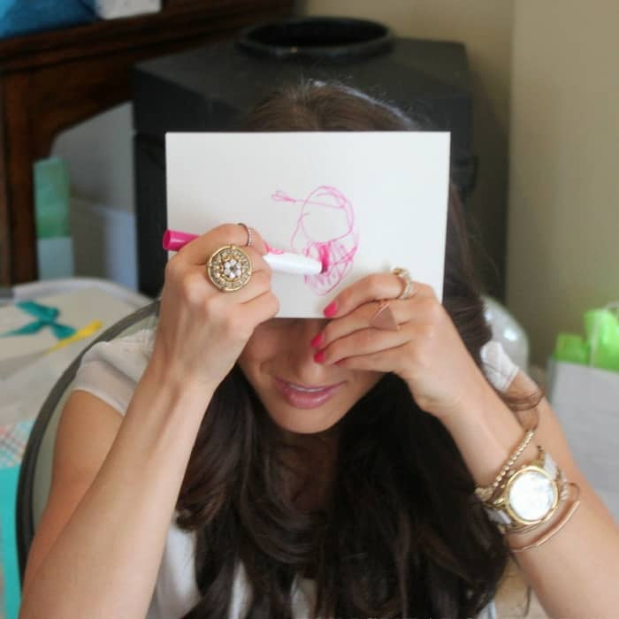 Baby shower games guess celebrity