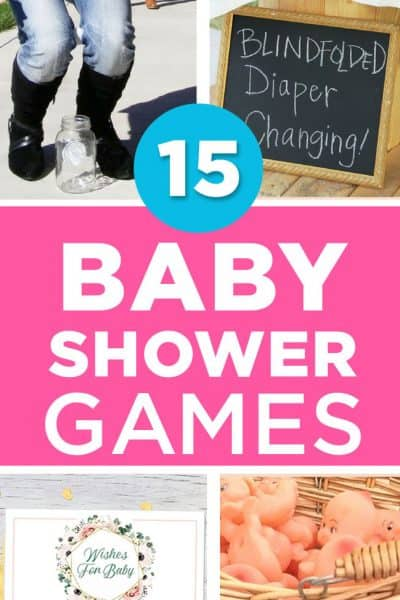 15 Best Baby Shower Games