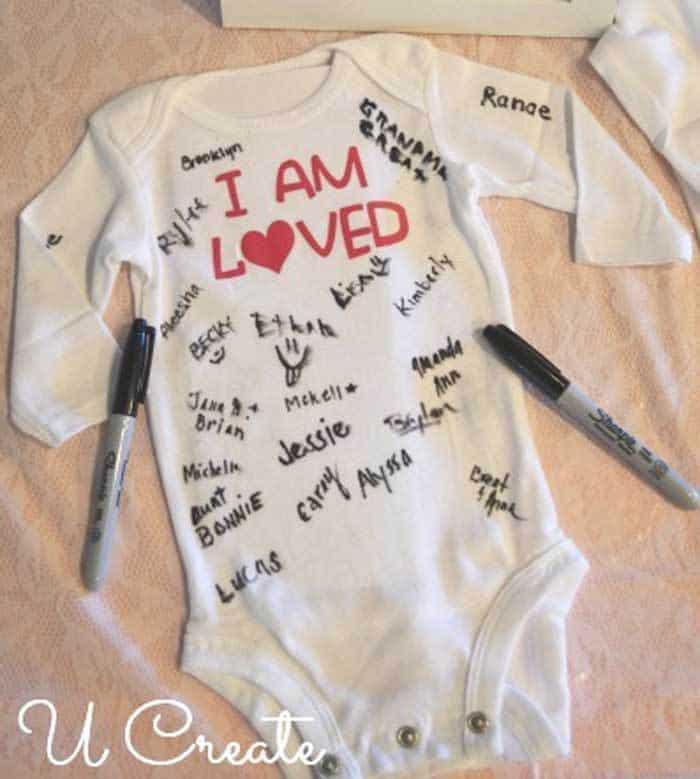 Baby Clothes Decorating - Refreshing baby shower game ideas, printables and more so you can plan the best baby shower! Baby shower games for women, men and couples.