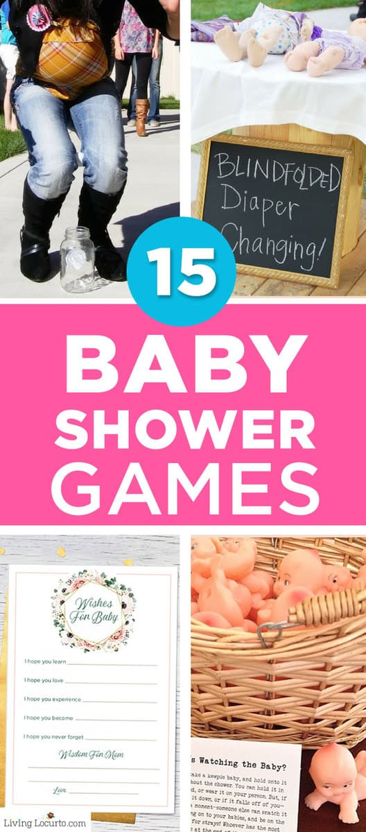 15 Refreshingly Different Baby Shower Games | Fun Baby Shower Ideas