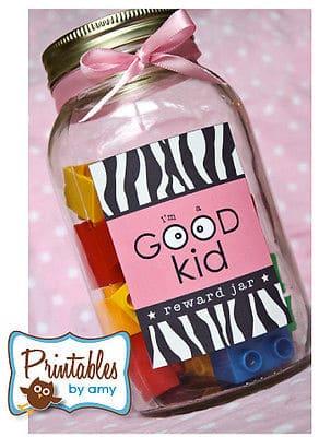 Good Kid Reward Jar - 50 Mason Jar Recipes and crafts