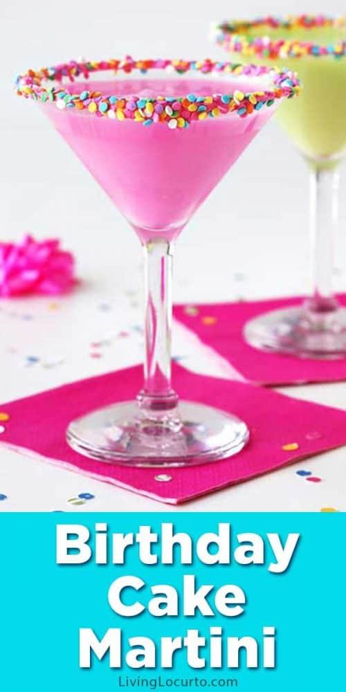 Birthday Cake Martini Recipe Living Locurto