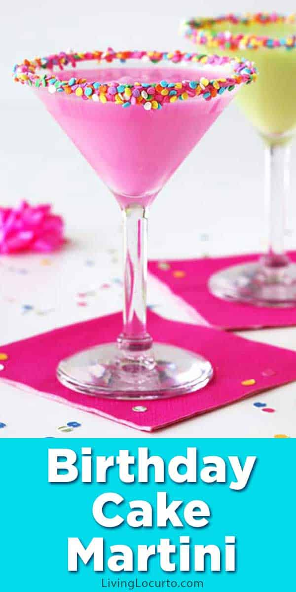 Birthday Cake Martini Recipe Living Locurto