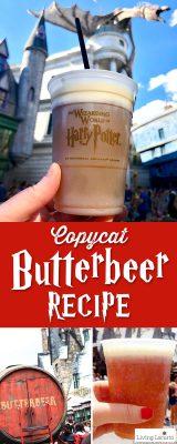 Homemade Butterbeer Recipe - Harry Potter Copycat Drink for Frozen Butterbeer at home.