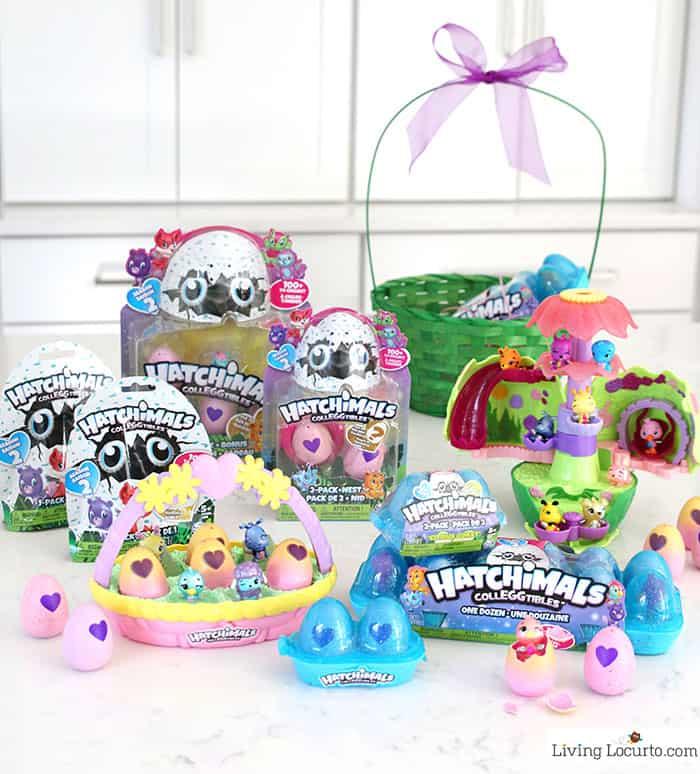 Giant easter basket creative easter egg hunt ideas hatchimals colleggtibles easter basket gift ideas and easter egg hunt ideas negle Gallery