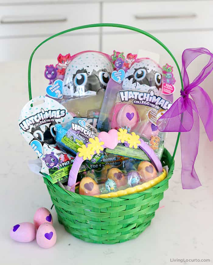 Giant Easter Basket and Easter Egg Hunt Ideas