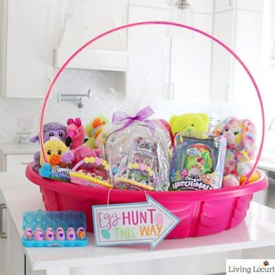 Giant Easter Basket Craft Easter Egg Hunt Ideas Living