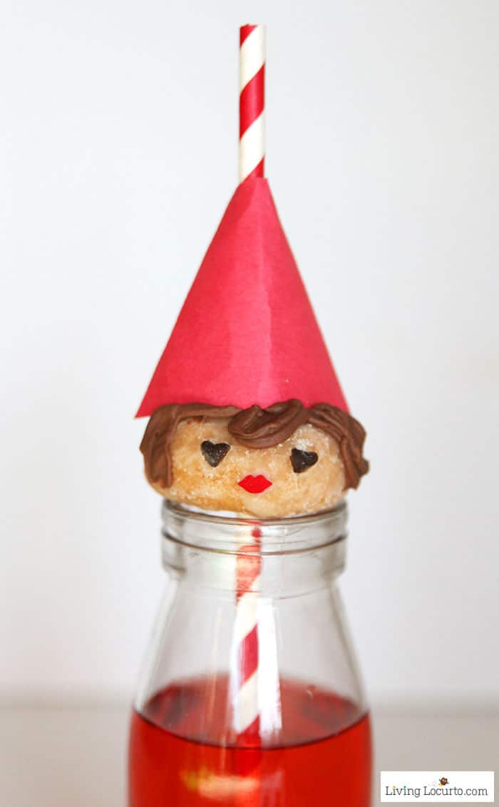 Juliet Gnome Donuts | No Bake SherlockGnomes Party Treat