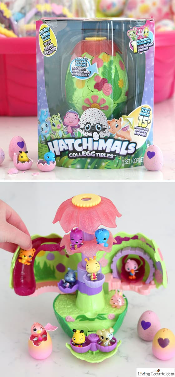 Giant easter basket creative easter egg hunt ideas secret scene playset hatchimals easter basket gift ideas negle Images