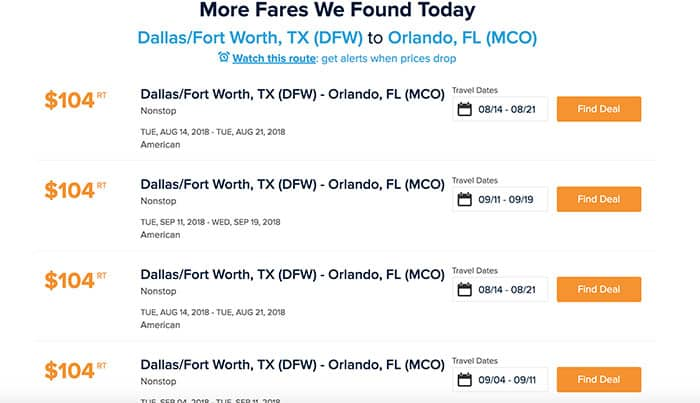 Money saving tips for Disney World, Universal Orlando and other family vacations! Best ideas for finding cheap flights and more.